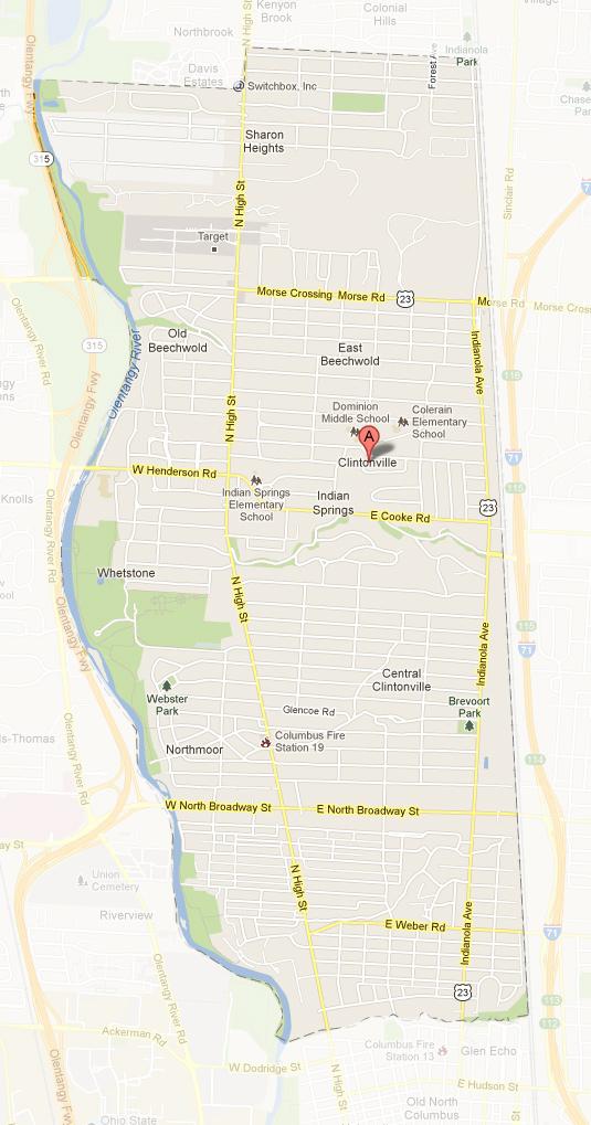Clintonville in Columbus Ohio