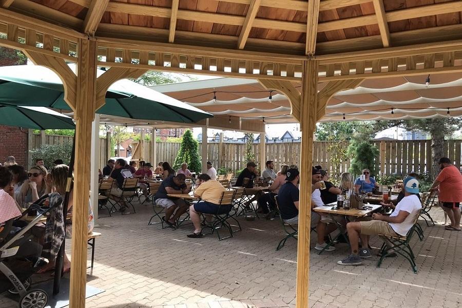 Olde Towne East beer garden